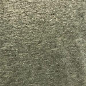 LOFT Tops - Loft Short Sleeve Olive and Gold Shimmy Tee Shirt